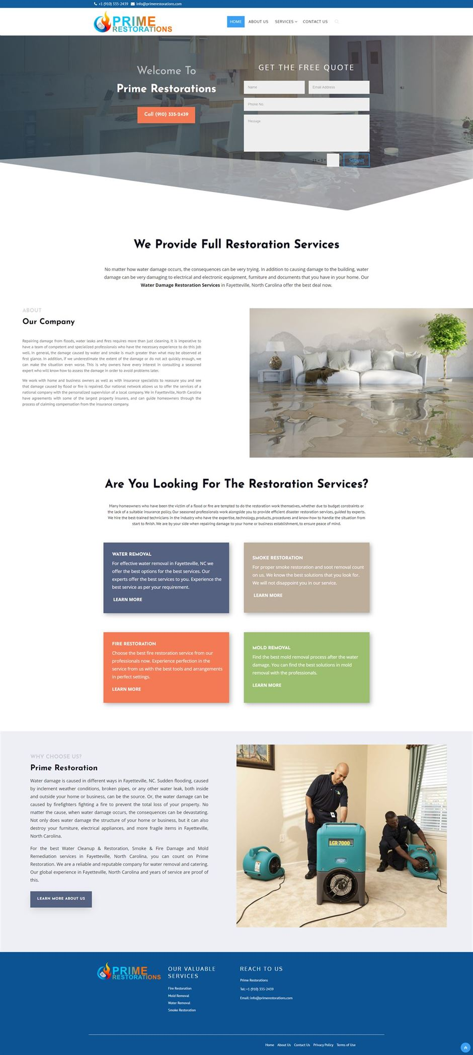 fayetteville-water-damage-experts-home-page
