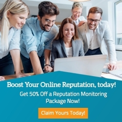 Get 50% off Reputation Monitoring Package Now